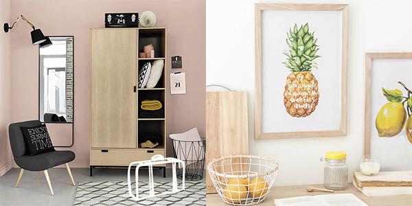 mobiliario y decoración con descuentos en la Maisons du Monde verano 2017