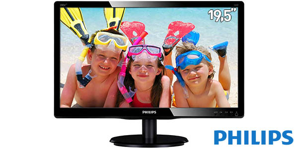 Monitor WLED Philips 200V4LAB2/00 de 19.5''