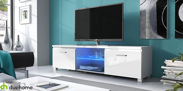 Chollo mueble de tv para sal n comedor con luces led de for Super chollo muebles