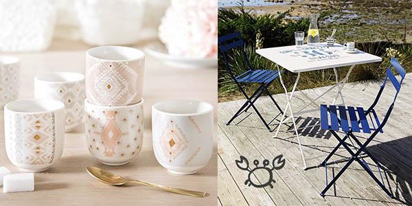 muebles y complementos textiles y para el jardín ofertas