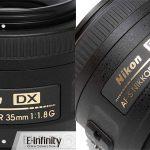 objetivo Nikon AF-S Nikkor DX 35mm 1.8 G barato en eBay