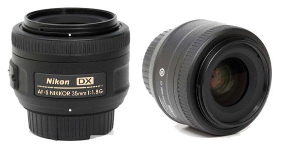 objetivo Nikon AF-S Nikkor DX 35mm 1.8 G chollo en eBay