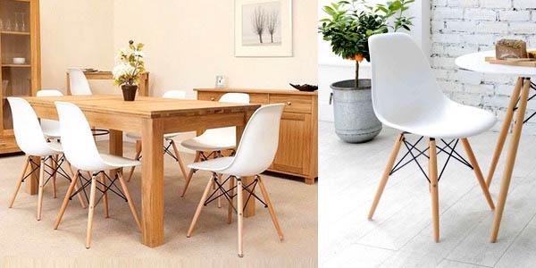 Pack sillas baratas Eames diseño