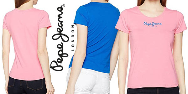 Pepe Jeans New Virginia camiseta para mujer barata