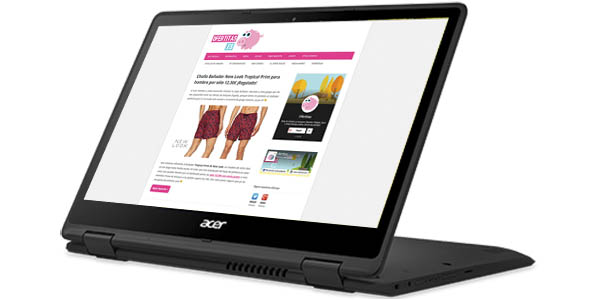 Acer Spin 5 con pantalla táctil de 13,3''