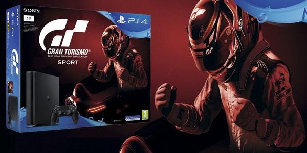 PS4 Slim 1 TB barata GT Sport pack