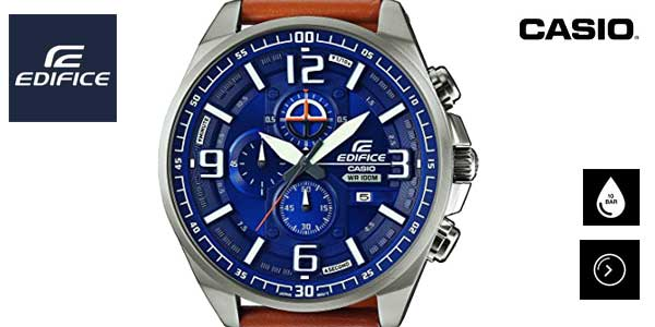 415e74bdb1c2 Chollo Reloj Casio Edifice para hombre estilo aviador por sólo 96 ...
