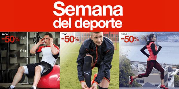 4e6f2ce42248 Semana del deporte El Corte Inglés, con rebajas de hasta el 50%