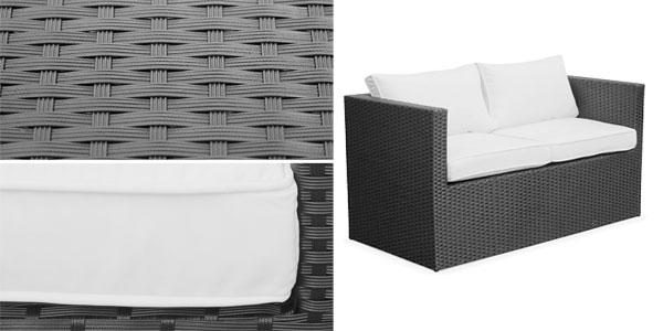 Conjunto 4 piezas de terraza o jard n messina por s lo 279 for Set muebles jardin baratos