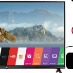 """Smart TV LG 55UJ630V de 55"""" UHD 4K"""