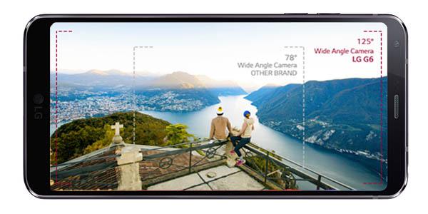 LG G6 con doble cámara trasera