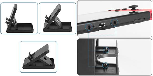 Younik Playstand para Nintendo Switch portátil y ajustable
