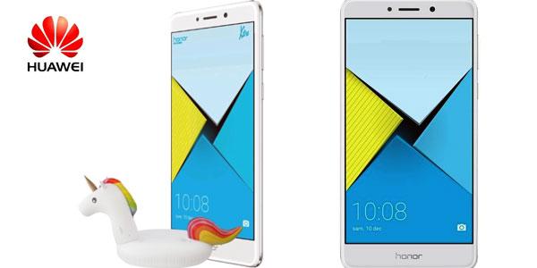 Smartphone libre Huawei Honor 6x Plata chollo en eBay