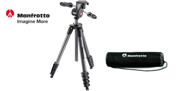 Tripode Manfrotto Compact Advanced chollo en Amazon