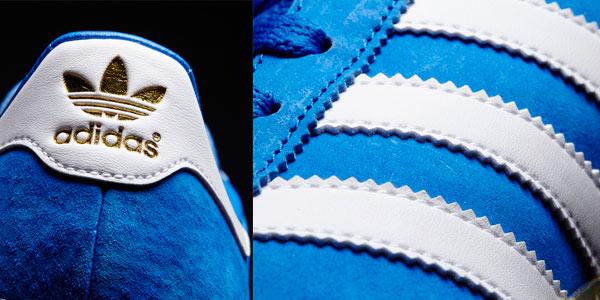Zapatillas Adidas de nobuk con 3 franjas al mejor precio