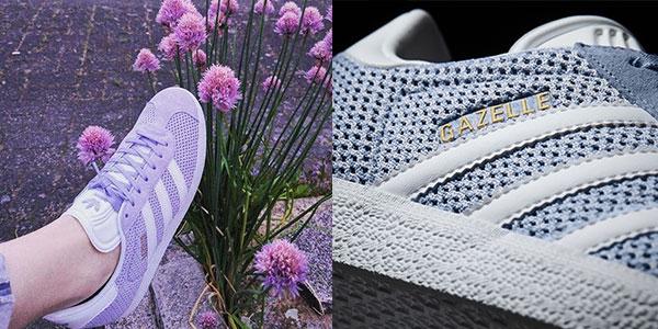 Zapatillas para mujer estilo casual Adidas Gazelle rebajadas