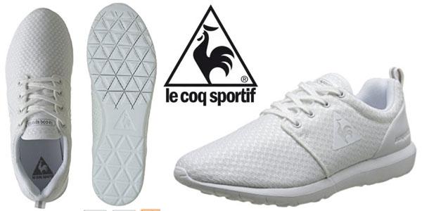 212290488d40d zapatillas Le coq Sportif Dynacomf Femenine blanco para mujer baratas