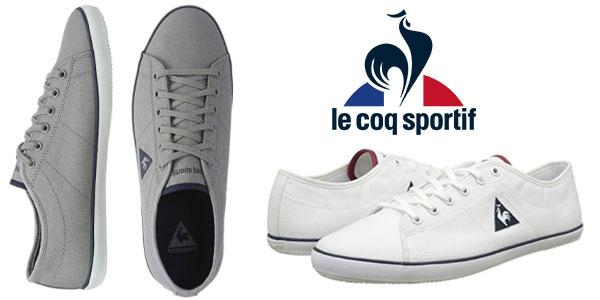 dd9a9be3c4f Zapatillas baratas de lona Le Coq Sportif Slimset Cvs para hombre
