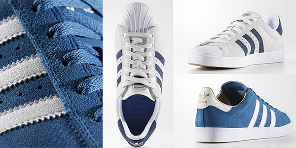 detailed look 6b098 533e4 Adidas Superstar Vulc ADV zapatillas casual unisex baratas