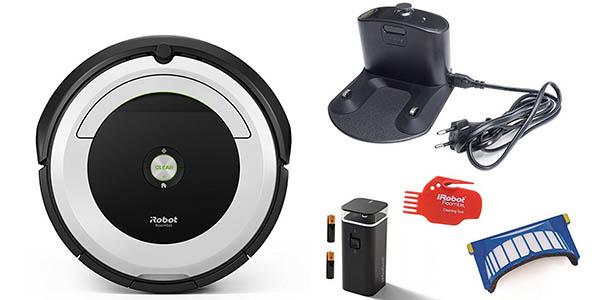 aspirador Roomba 691 con App para smartphone y virtual wall