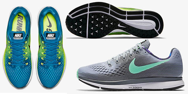 708737711e9c8 bambas Nike Air Zoom Pegasus 34 para mujer y para hombre