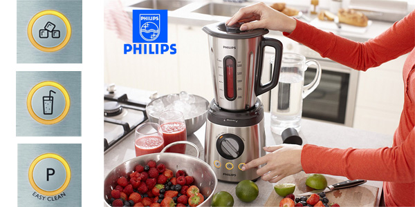 Batidora de vaso Philips HR209700 Avance Collection de 800 W chollazo en Amazon