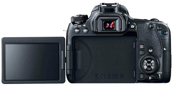 Canon EOS 77D DSLR con WiFi, NFC y bluetooth