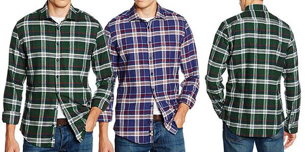 camisa de cuadros Redford Amsterdam para hombre barata