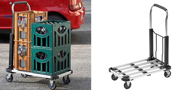 carrito transportador plegable resistente barato