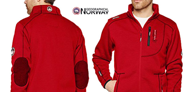 Chaqueta deportiva para hombre Geographical Norway Tabloid Chollo en Amazon