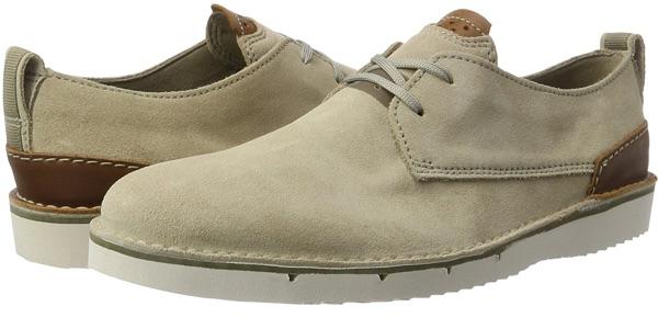 Zapatos Clarks Capler Plain Sand Suede baratos