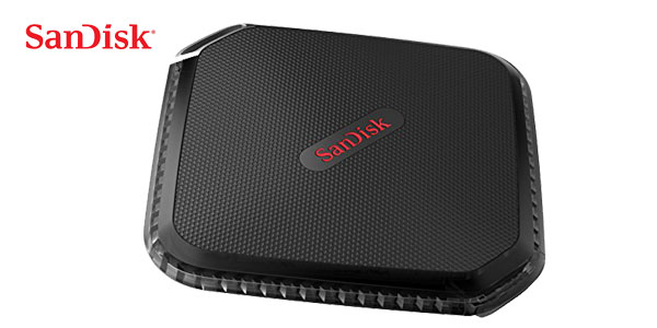 Disco Duro portátil SSD SanDisk SDSSDEXT-250G-G25 Extreme 500 de 250 GB chollo en Amazon