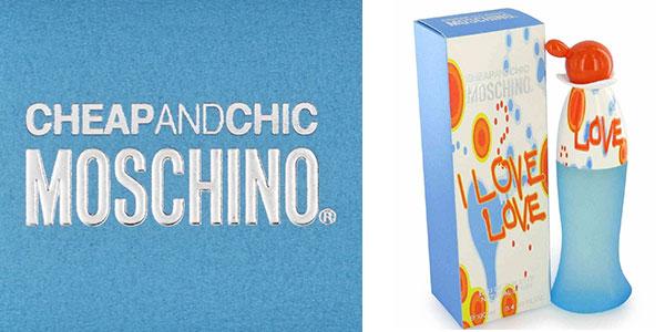 Eau de toilette Moschino I Love Love de 100 ml barata en Amazon
