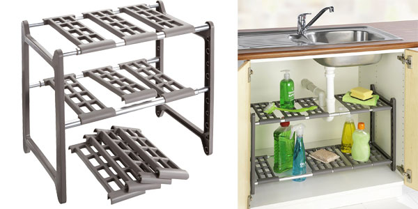 Chollo estanter a para armario de fregadero de - Fregaderos de aluminio ...