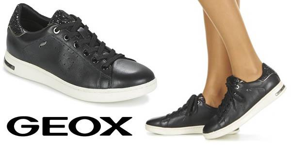 Geox Jaysen zapatillas piel para mujer cómodas y baratas