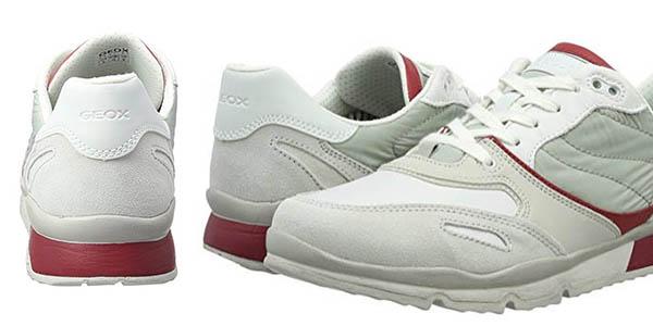 Geox Sandford zapatillas transpirables con plantilla de goma EVA