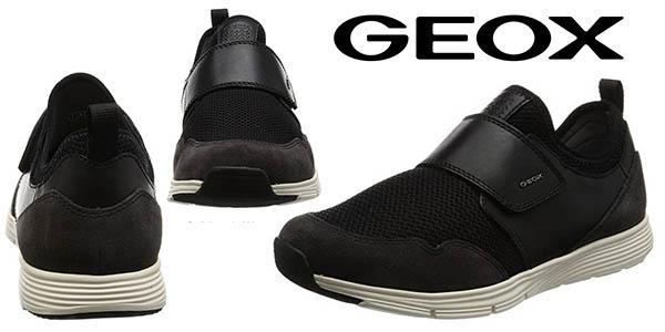 Geox U Snapish C zapatillas casual cómodas para hombre baratas