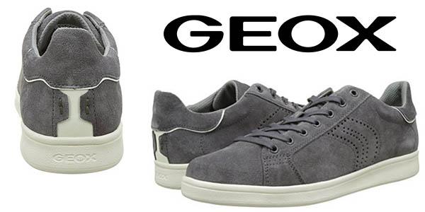 Geox U Warrens zapatillas estilo casual aterciopeladas chollo