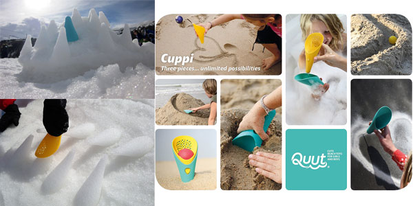 Juguete de playa para niños Cuppi de Quut chollo en Amazon
