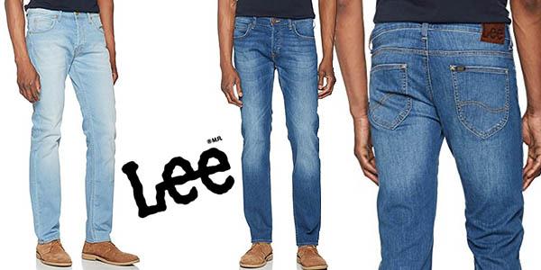38f44ffad6 Chollo Vaqueros Lee Powell Jeans para hombre por sólo 33
