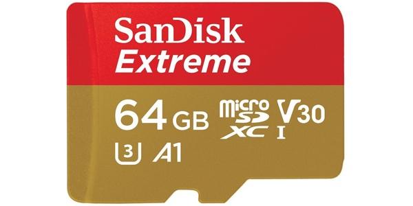 micro-sdxcTarjeta de memoria SanDisk Extreme 64 GB microSDXC barata