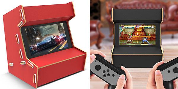 Mueble arcade para Switch Myriann barato en Amazon