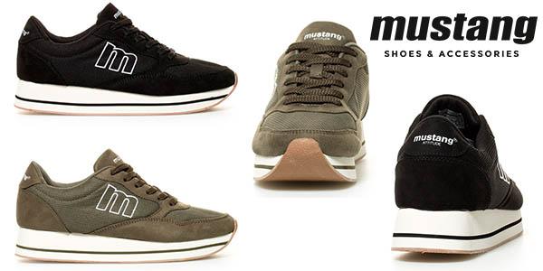 Mustang Bandala zapatillas para mujer baratas