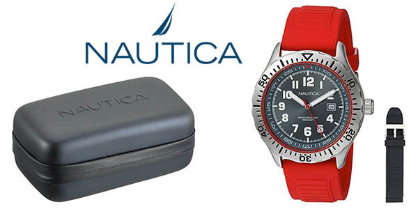 Nautica NAD140004G reloj de cuarzo analógico para hombre barato