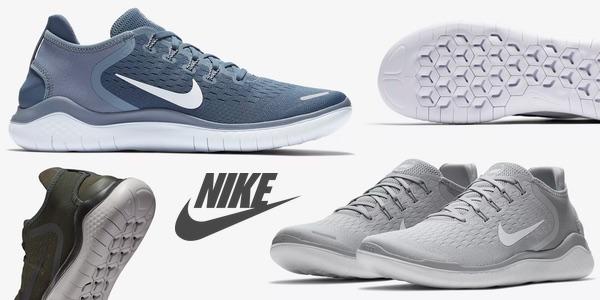 33ad1d388cc76 Chollazo Zapatillas de running Nike Free RN 2018 por sólo 61