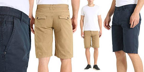 calidad primero suave y ligero ventas calientes Chollo Pantalones cortos chinos James Tyler para hombre por ...