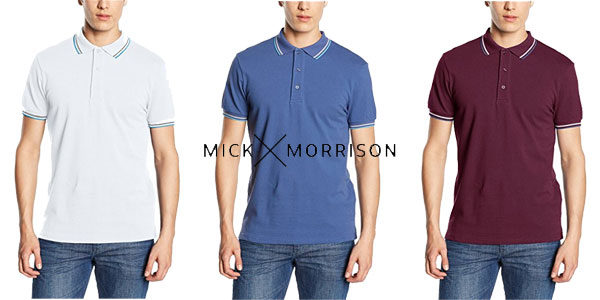 Polos para hombre Mick Morrison chollo en Amazon