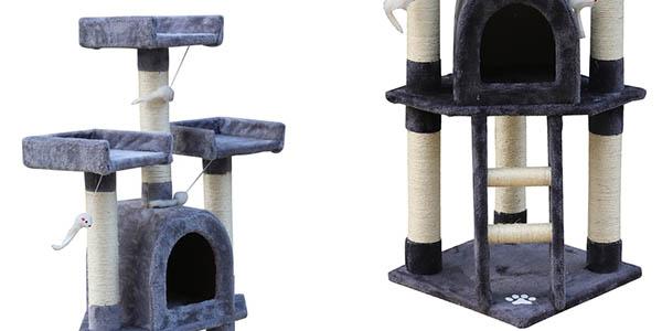 rascador para gatos alto con gran relación calidad-precio