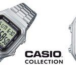 Reloj de pulsera Casio Collection A178WEA-1AES unisex barato