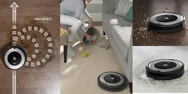 robot inteligente Roomba 691 con sensores de suciedad oferta